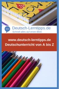 Deutsch-lerntipps.de - Das Portal für den Deutschunterricht